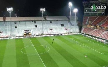 Босейлстадион е готов за Антверп - Лудогорец