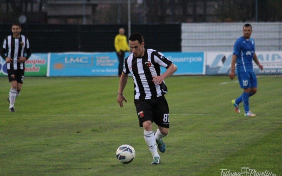 Бившият защитникна Локомотив ПловдивДиего Фераресо разкри, че би искал да
