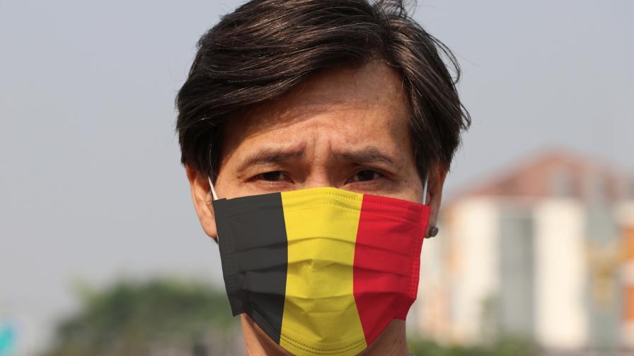 <p>Белгия се опасява от трета епидемична вълна</p>