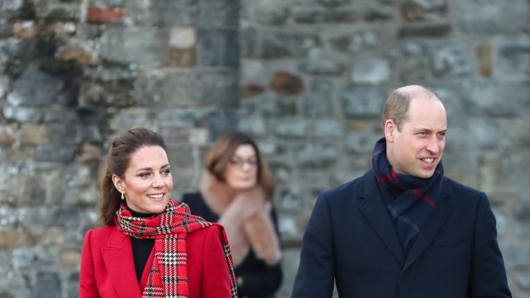 Празничния вълнения в последния ден от турнето на Кейт и Уилям