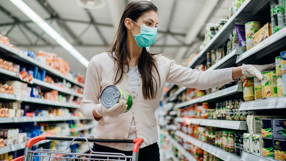 пандемия храна пазаруване коронавирус
