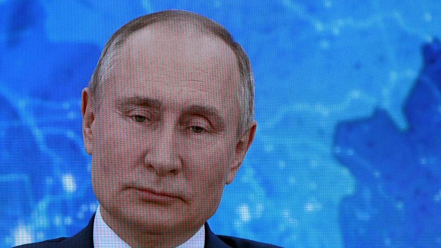 <p>Путин: Ако Русия искаше, Навални щеше да е мъртъв</p>