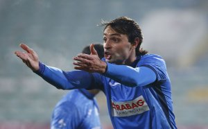 Мартин Райнов тренира за здраве с Левски