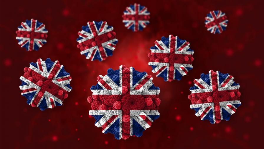 Още една нова мутация на COVID-19 беше открита във Великобритания