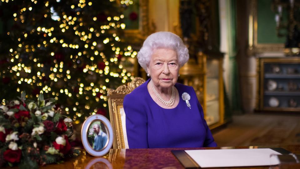 кралица Елизабет Втора коледна реч