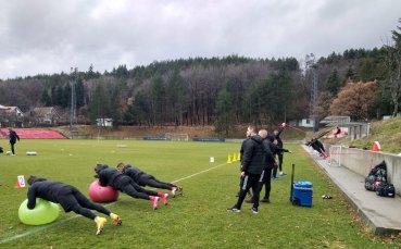 ЦСКА даде старт на зимната си подготовка с нови лица в отбора и щаба