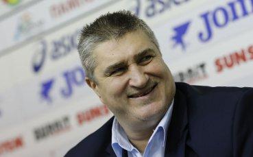 Любо Ганев мотивира националния ни отбор за Евроволей 2021