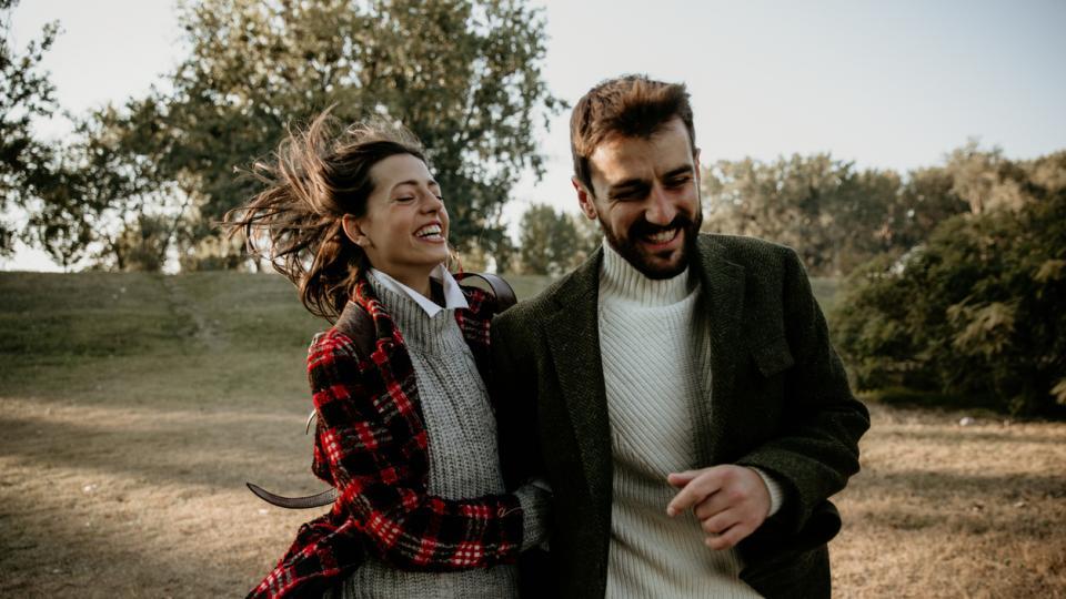 любов двойка природа есен зима