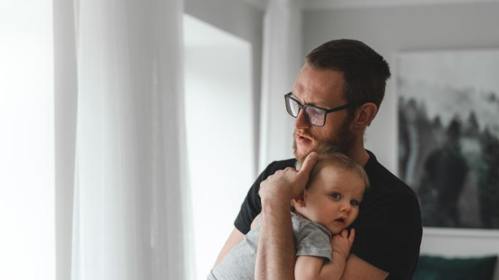 Какво е да бъдеш баща в майчинство - истории на шведски татковци в снимки