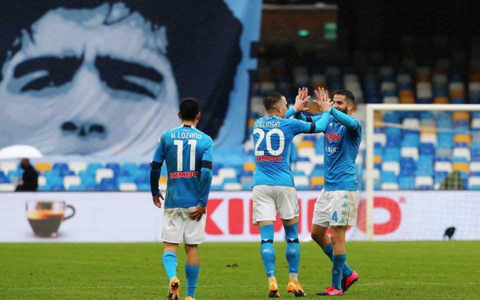 Отборът на Наполи разби Фиорентина с впечатляващото6:0 в мач от