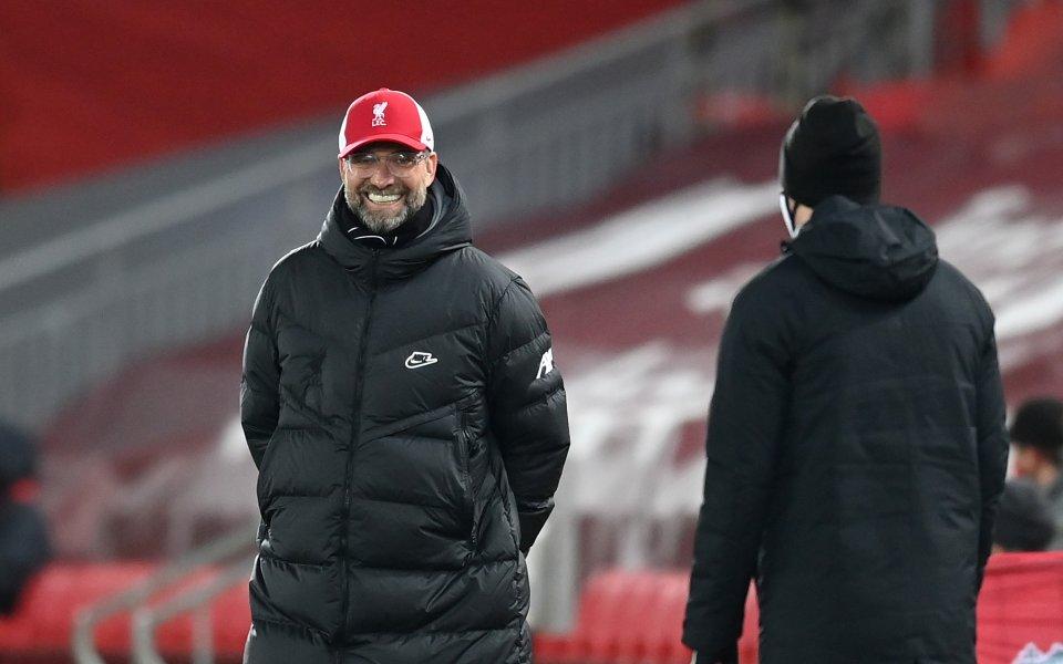 Мениджърът на Ливърпул Юрген Клоп заяви, че . Германският специалист