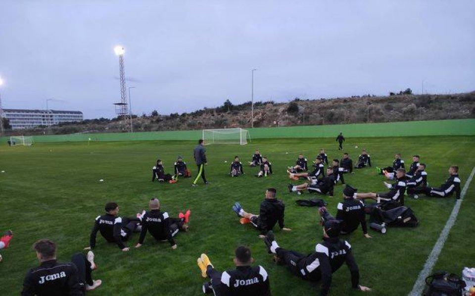 Столичният Славия проведе първа тренировка в Турция. В четвъртък 21-ви,