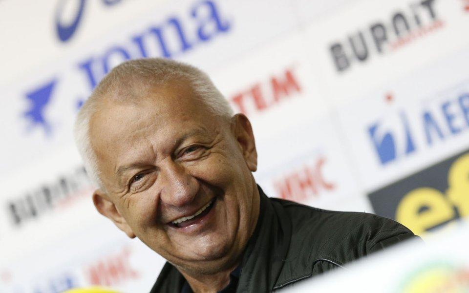 Ръководството на Локомотив Пловдив поздрави собственика на клуба Христо Крушарски