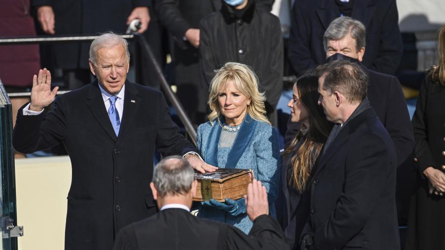 Президентът на САЩ  Джоузеф Байдън встъпи в...