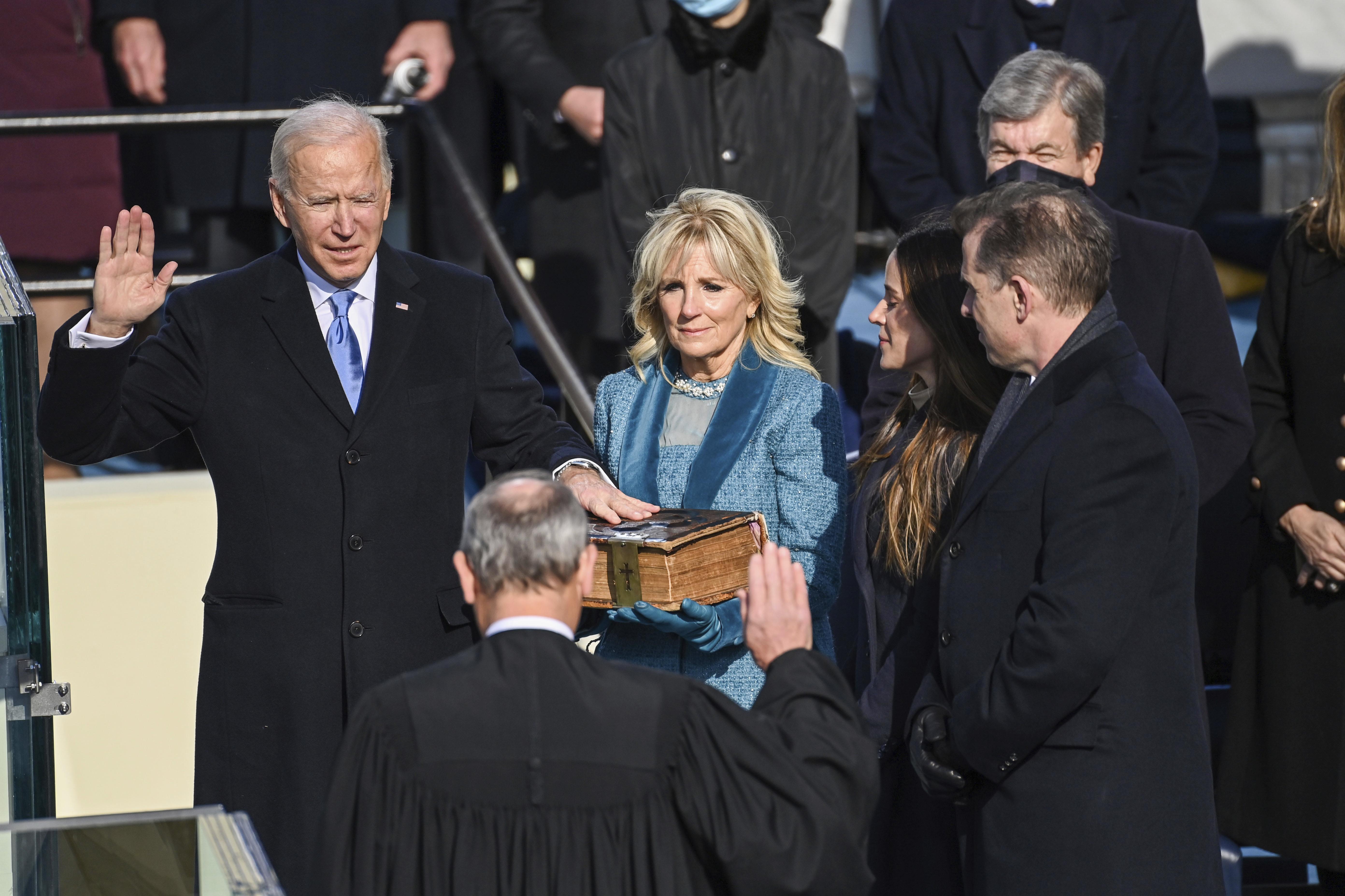 <p>Новият 46-и президент на САЩ Джоузеф Байдън встъпи в длъжност</p>