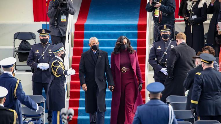 Какво облякоха първите дами и вицепрезидента Камала Харис за инаугурацията на Джо Байдън
