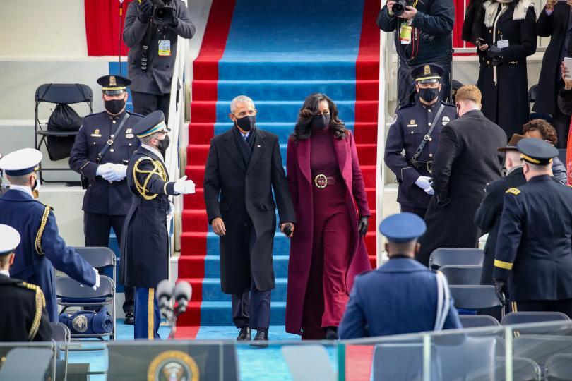 <p>Мишел и Барак Обама</p>