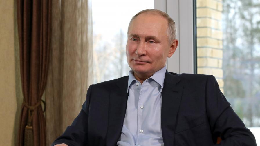 """Видео показа отвътре """"Двореца на Путин"""""""