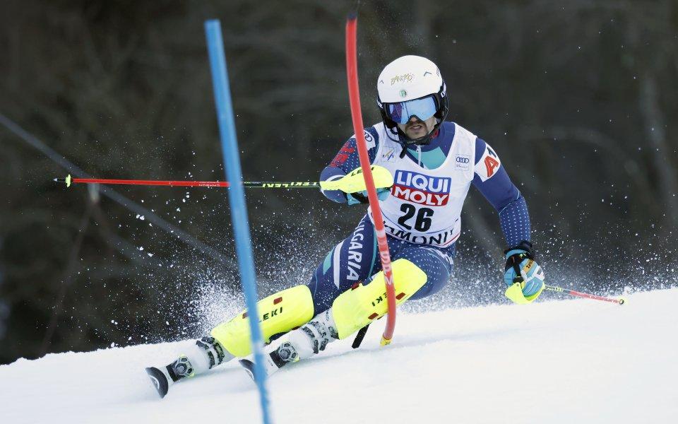 Българинът Алберт Попов заема 31-ото място след първия манш на