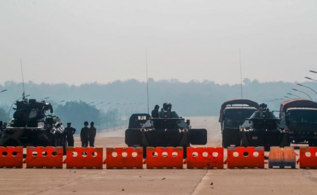Как се играе аеробика на фона на военен преврат