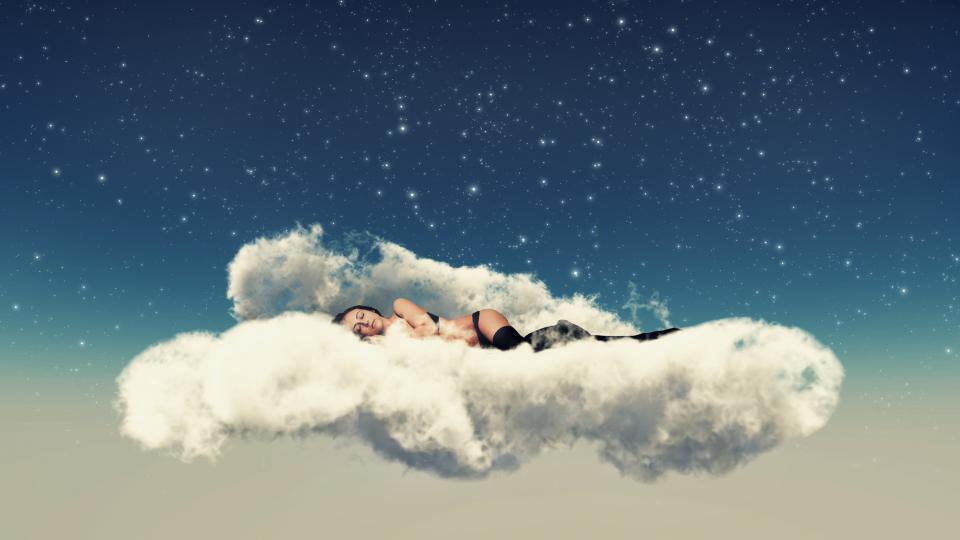 жена сънища сън