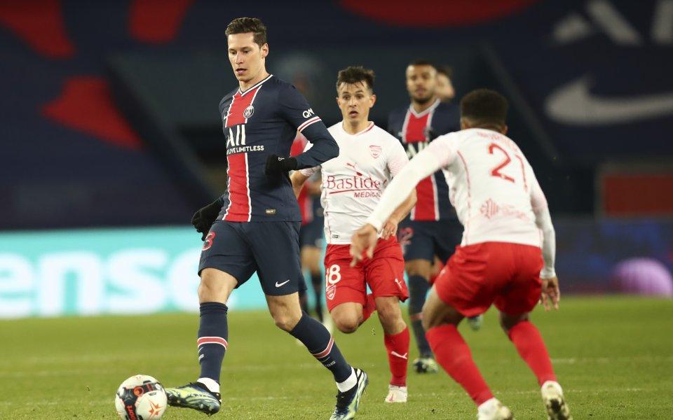 Олимпик Лион постигна важна победа с 1:0 като гост на