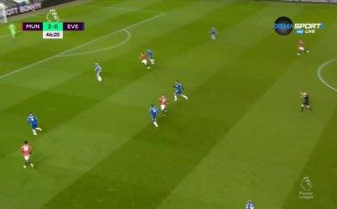 Манчестър Юнайтед - Евертън 3:3 /репортаж/