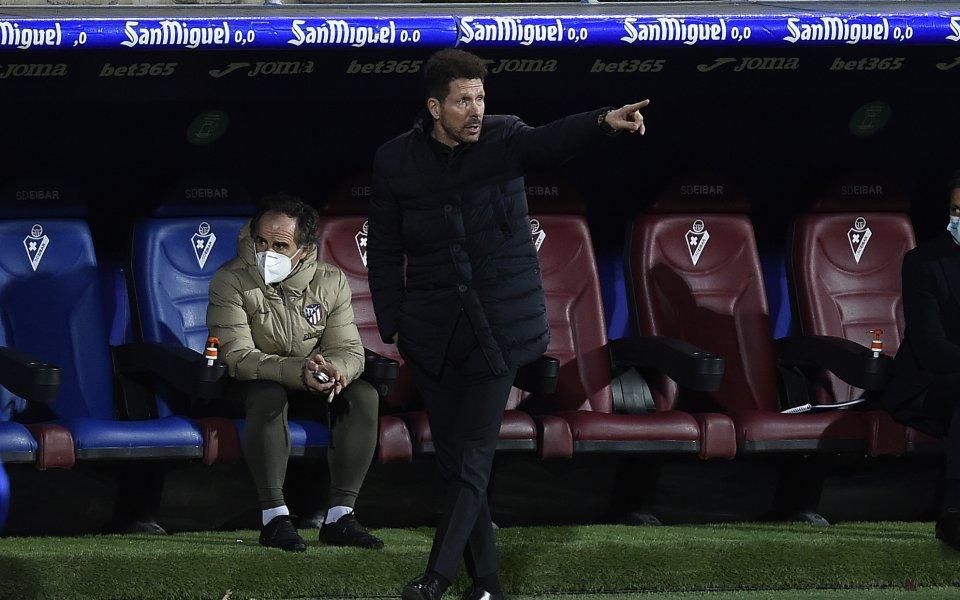 Наставникът наАтлетико Мадрид,Диего Симеоне,не беше разочарован след равенството срещуСелта(2:2). Този