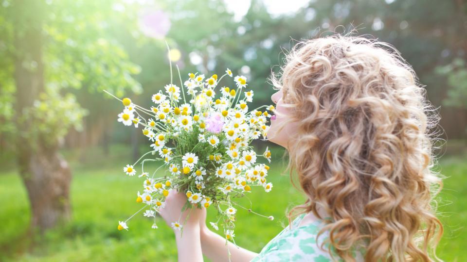 любов цветя жена