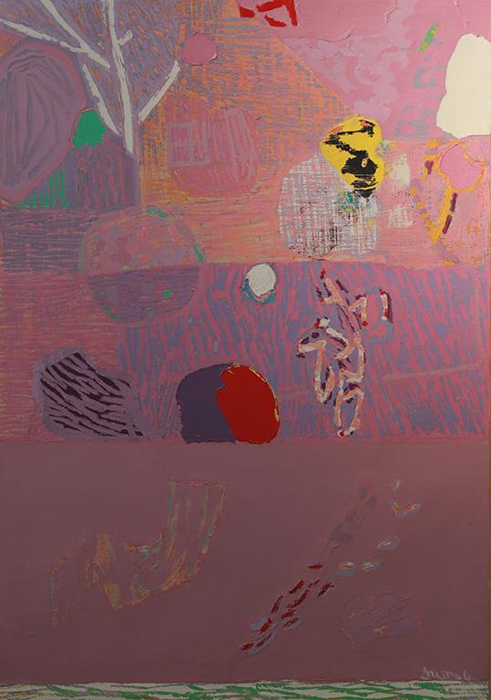 <p>Обръща се към натурата, но не за да я отрази, а за да я употреби в повод за разговор-среща между цветовете и формите, които зазвучават полифонично в своеобразни композиции между абстрактното и конкретното.</p>