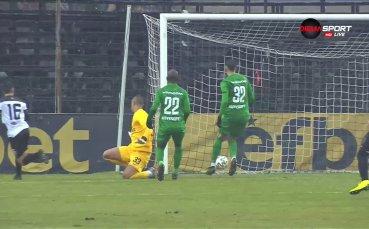 Грешка на Ренан - 3:2 за Локо Пд срещу Лудогорец