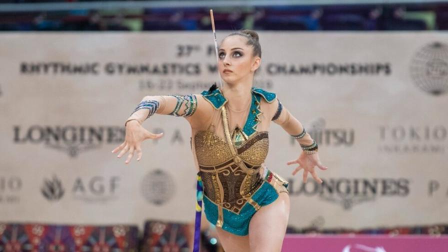 <p>Наша гимнастичка с четири медала от Гран При в Москва</p>
