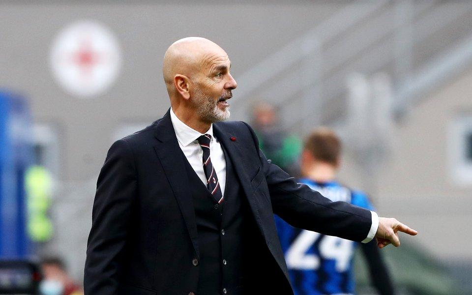 Треньорът на Милан Стефано Пиоли се надява да може да