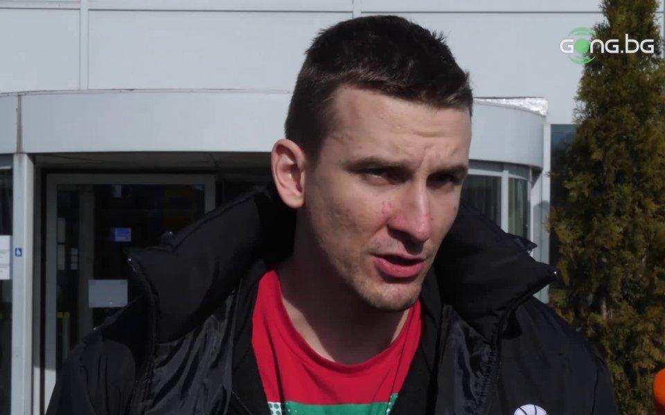 Баскетболистът на националния отбор Димитър Димитров коментира класирането на тима