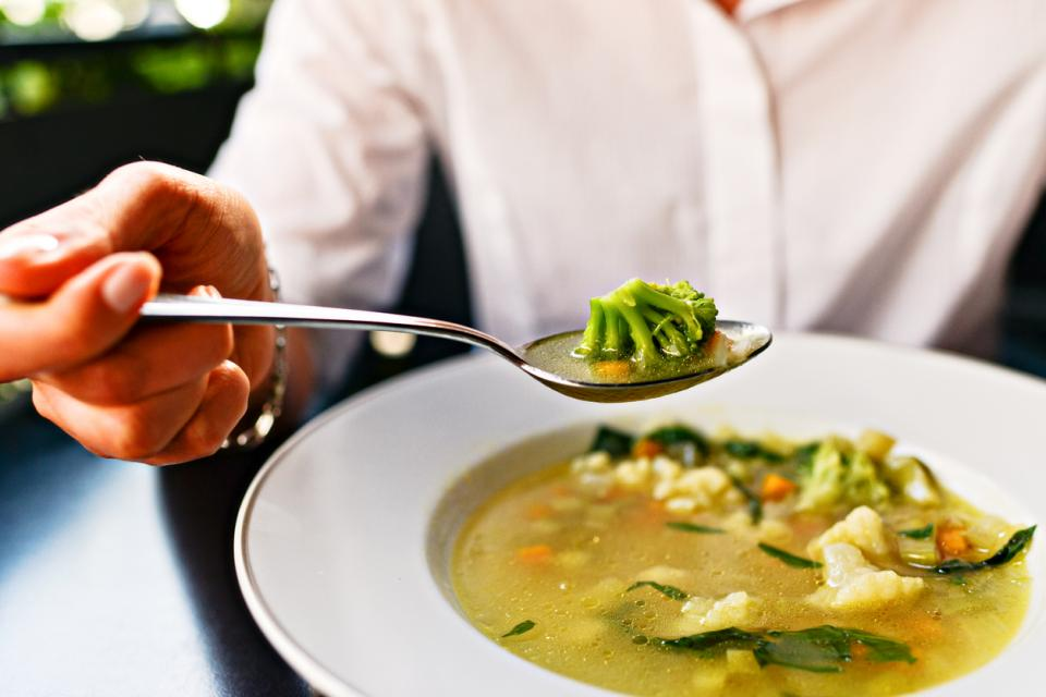 жена супа храна диета