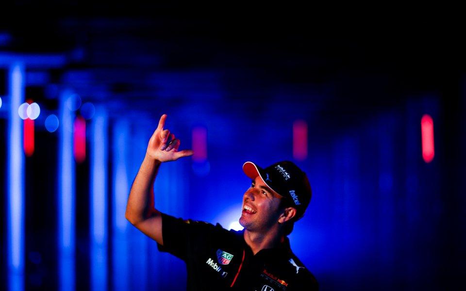 Серхио Перес се интегрира добре в отбора на Ред Бул,