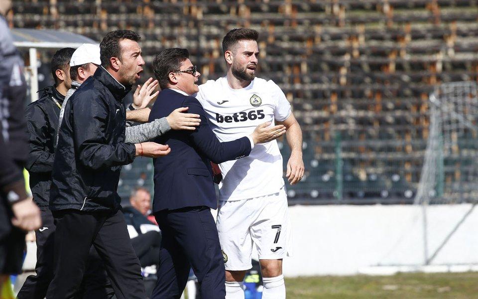 Реализиралият два гола за успеха на Славия над Арда Кърджали