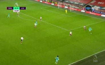 Шефилд Юнайтед - Ливърпул 0:0 /първо полувреме/