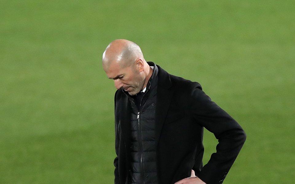 Наставникът на Реал Мадрид Зинедин Зидан похвали тима си за