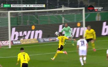 Борусия Мьонхенгладбах - Борусия Дортмунд 0:0 /първо полувреме/