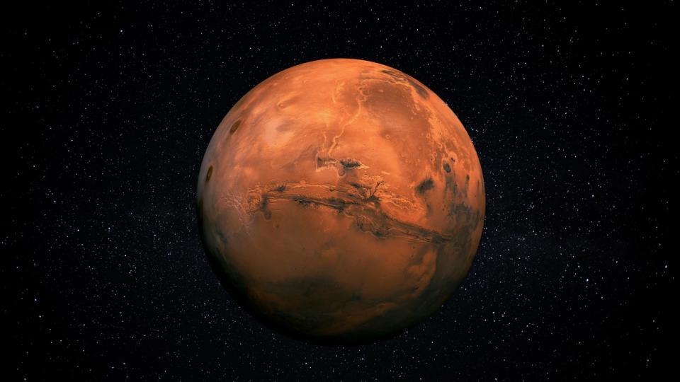 планета планети марс космос звезди