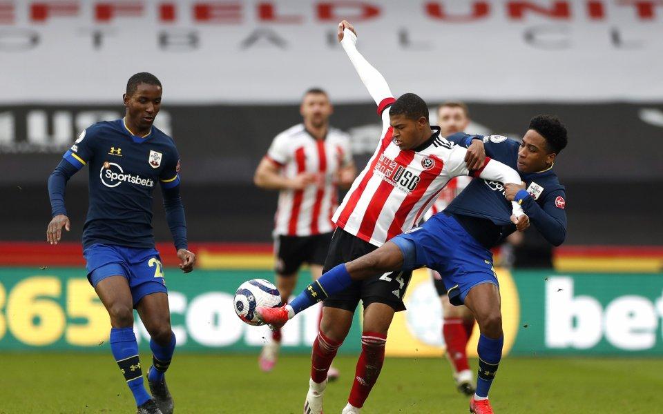 Саутхемптън спечели гостуването си на Шефилд Юнайтед с 2:0 в