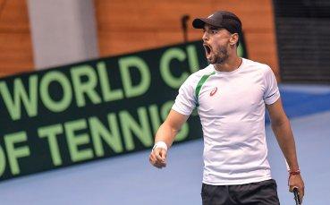 Кузманов загуби в първия кръг в квалификациите на Уимбълдън