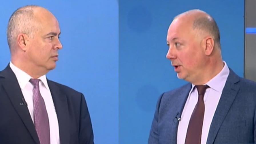 Предизборен сблъсък, ГЕРБ срещу БСП със Свиленски и Желязков
