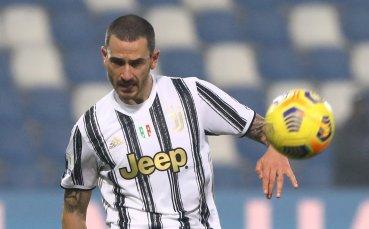 Бонучи пропуска финала за Купата на Италия