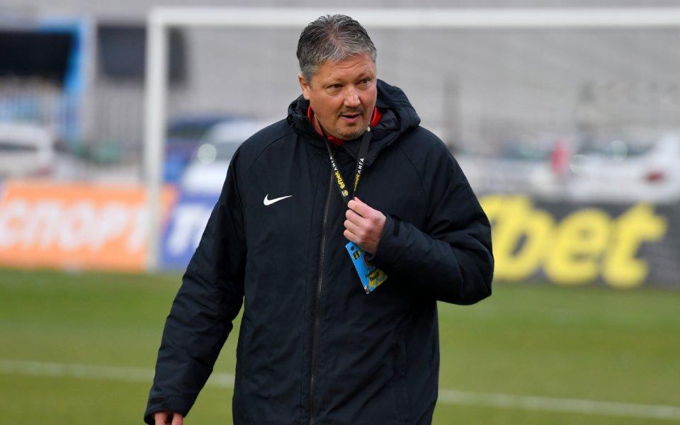 ЦСКА обяви официално, че новият старши треньор на отбора е