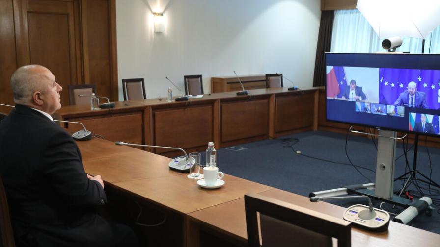 Борисов  поиска от Мишел солидарност за ваксините
