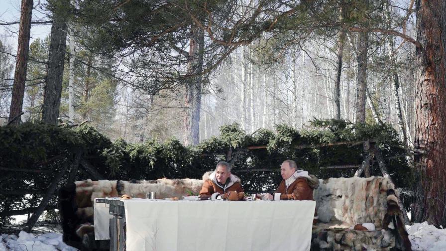 <p>Путин на почивка в тайгата&nbsp;(СНИМКИ)</p>