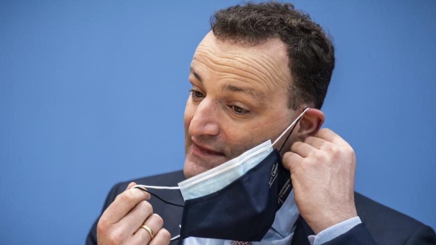 Здравният министър на Германия Йенс Шпан