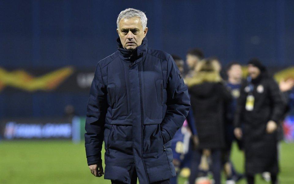Мениджърът на Тотнъм Жозе Моуриньо остана доволен от победата с